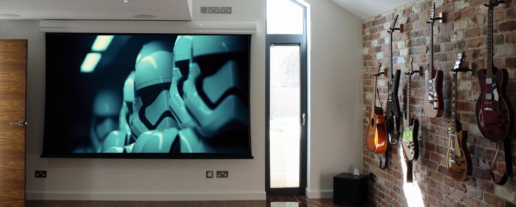 home cinema projector screen